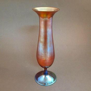 WMF MYRA KRYSTALL VASE  - Art Glass
