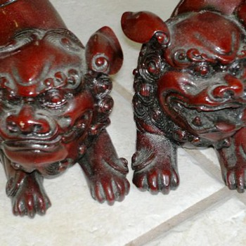 Chinese ? Foo Dogs?