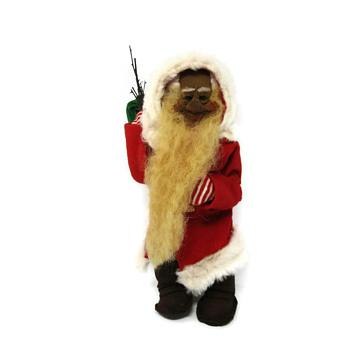 Berlin Santa Doll - Christmas
