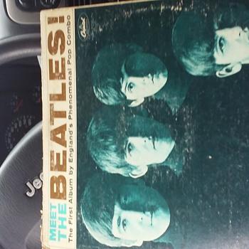 Meet the beatles the first album vinyl record  - Music