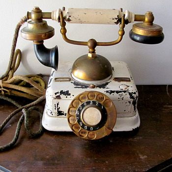 Antique Danish Telephone - Telephones