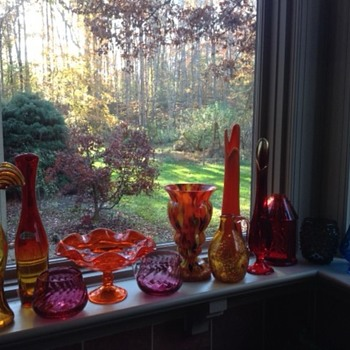 Blenko, Pilgrim, Viking, Empoli - Art Glass