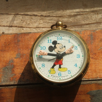 The smallest Mickey Alarm I own