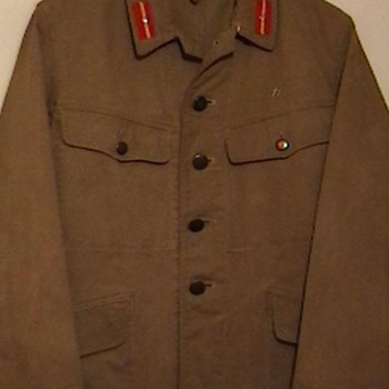 WW II Imperial Japanese Army Tunic