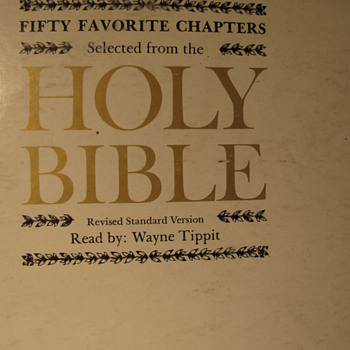 Fifty Favorite Chapters from the Bible on Vinyl