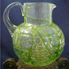 1904 Kralik Alligator Crackle Pitcher....