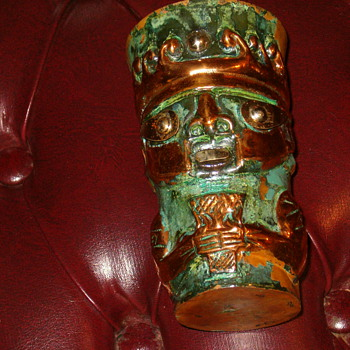 Antique Mayan/Aztec Breaker Cup