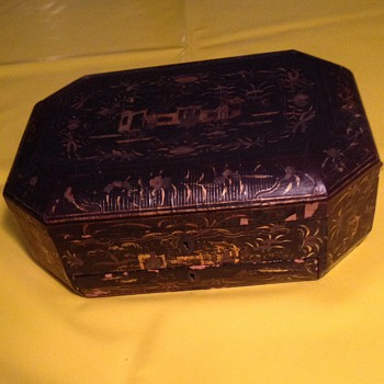 Old Japanese jewelry box help please. - Asian
