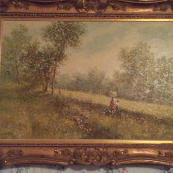 Like these paintings and would like any info some might have - Visual Art