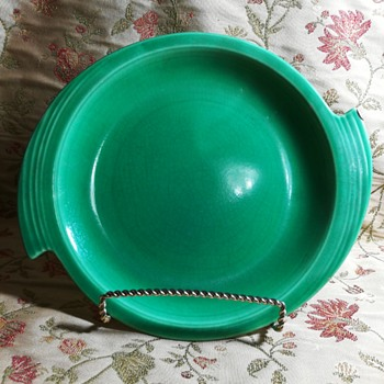 "11"" serving platter ""Zephyr"" pattern, Cronin China Co."