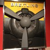 A nice 3D  Breitling watch Advertising stand