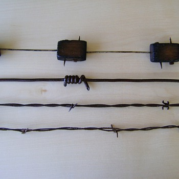 Antique Barbed Wire - Tools and Hardware