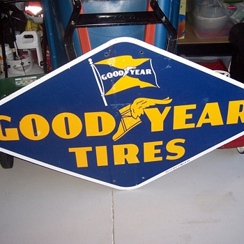 GoodYear Tires Sign 1952 - Signs