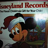 Vintage Mickey Mouse Christmas Ad Poster