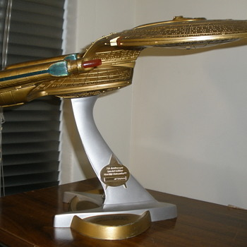 My mystery Star Trek Model Circa 1972.  - Toys