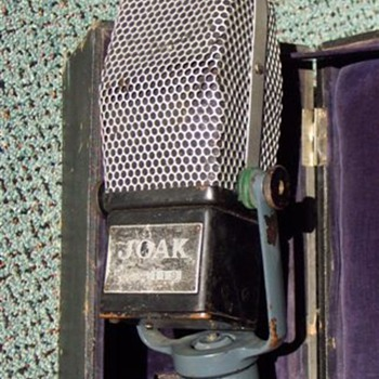 J.O.A.K. Japan Radio early WW2 Microphone - Radios