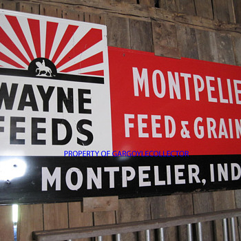 Wayne Feed sign - Signs