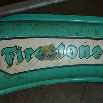 Firestone Bicycle - 1950's? - Outdoor Sports