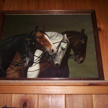3 Horse Prints