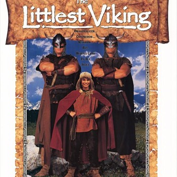 "LITTLEST VIKING POSTER, 1990s (I have the movie)  Supposed To Be A ""Family"" movie--NOT KID FRIENDLY. - Posters and Prints"