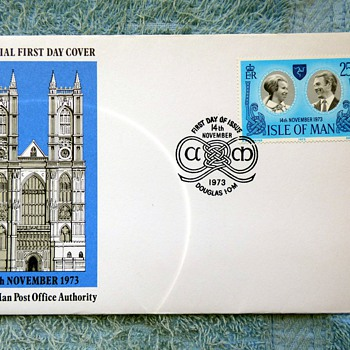 1973-1977-british first issue stamps-first day covers. - Stamps