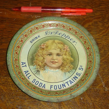Dr. Pepper Tray Circa 1900 - Anyone seen one? - Advertising