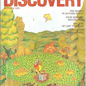 "1976 ""DISCOVER MAGAZINE"" THE ALLSTATE MOTOR CLUB MAGAZINE"