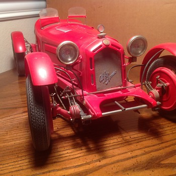 Alfa Romeo 1931 8C 2300 Monza Pocher assembled Model  - Model Cars