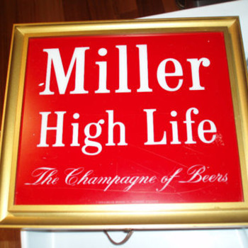 Miller Beer Sign - Signs