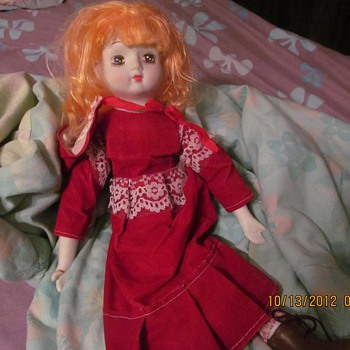 Anyone know what type of doll she is?