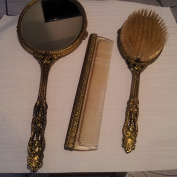 Mirror Comb and Brush  - Accessories