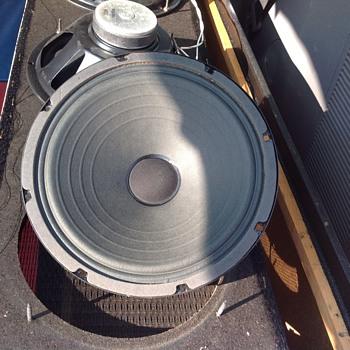 vintage speaker drivers 10 inch