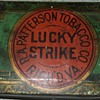 early 1900's Lucky Strike Cigarette tin.