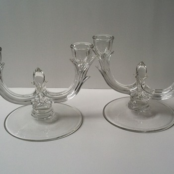 New Martinsville-Viking Candleholders