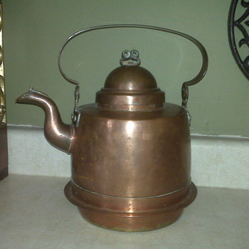 Copper Teapot find that called my name