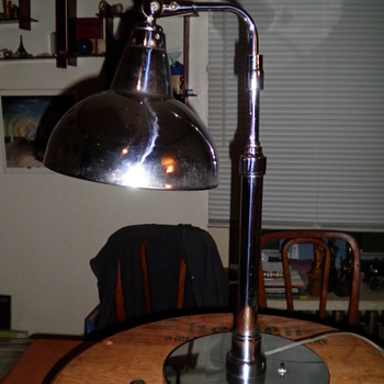 Machine age Lamp