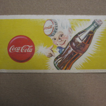 1947 Coca-Cola Blotter - Coca-Cola