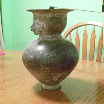 Antique ceramic vase - Art Pottery