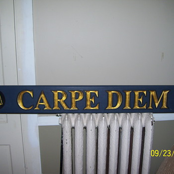 CARPE DIEM  - Signs