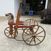 Pump riding toy from the 1800's. has anybody seen one of these that can tell me what it's worth