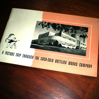 1940s Cincinnati Coca-Cola Bottling Plant Tour Booklet - Coca-Cola