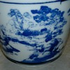 Blue &amp; White Landscape Cup
