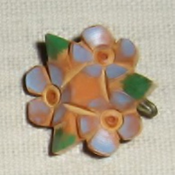 Tiny bakelite pins from 1930's? - Costume Jewelry