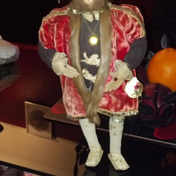Henry VIII Doll by Ottenberg of Derby.