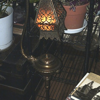 Brady Smoking Stand Lamp