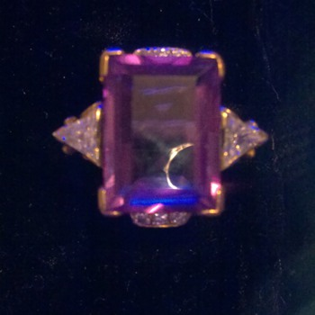 color change sphire ring