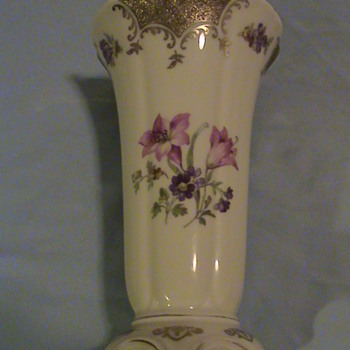 RS Tillowitz Vase Filigran  D.R.P. Angem marked