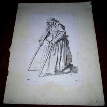 Antique Engravings by Jacques Callot - Posters and Prints