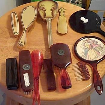 Vanity sets (1930's) - Accessories