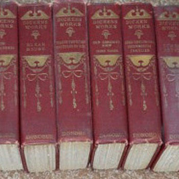 Dickens Works 14 Volumes - Books